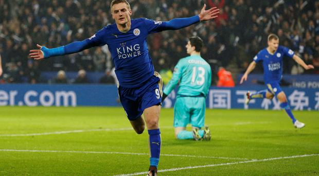 Jamie Vardy's goals have fuelled Leicester City's stunning rise (Reuters)