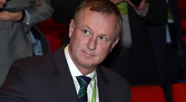 Michael O'Neill's Northern Ireland will take on Slovenia in a friendly in March