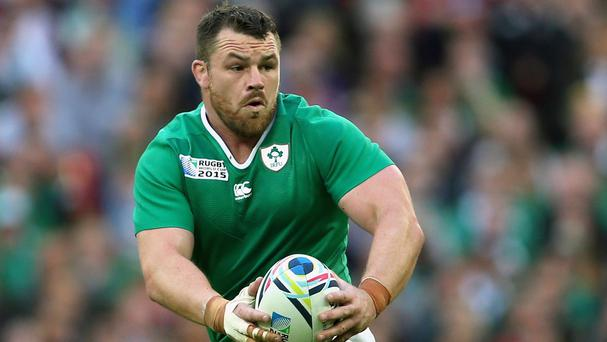 Cian Healy has been handed a two-week ban for striking