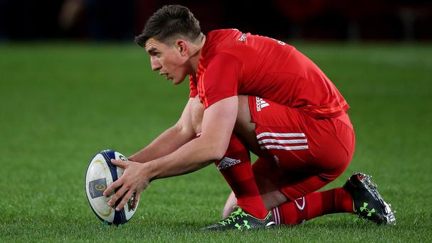 Ian Keatley kicked all of Munster's points