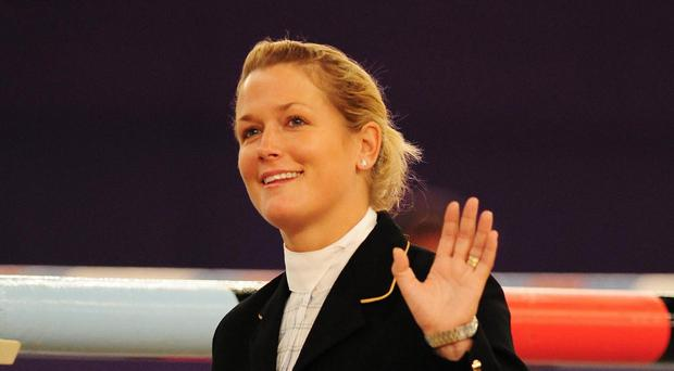 British rider Laura Renwick claimed a podium finish on day two of the Equestrian.com Liverpool International Horse Show