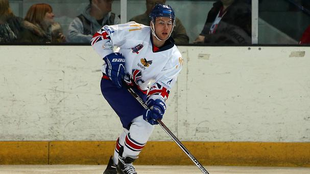 Great Britain defenceman Ben O'Connor was on target as Sheffield beat Belfast