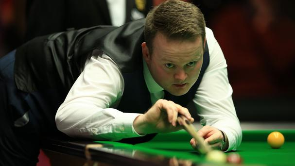 Mark Allen beat Shaun Murphy, pictured, in the first round of the Masters