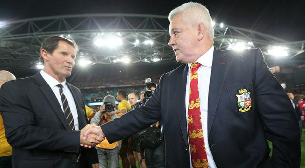 Warren Gatland coached the Lions the last time out