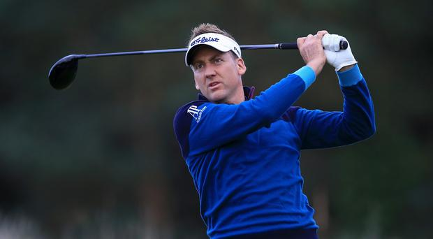 Ian Poulter helped Europe get off to the perfect start in Kuala Lumpar