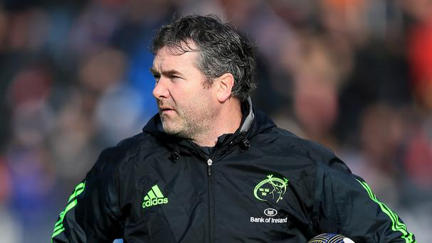 Anthony Foley hailed Munster's bonus-point win over Stade Francais