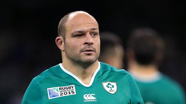 Rory Best, pictured, has replaced Paul O'Connell as Ireland captain