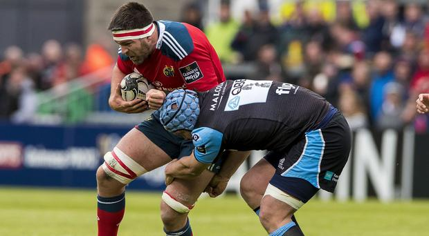 CJ Stander, left, cannot wait to play on the international stage