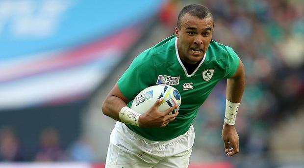 Simon Zebo has signed a new deal with Munster