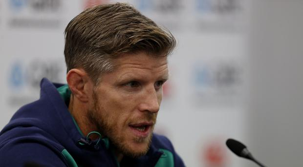 Ireland's forwards coach Simon Easterby, pictured, says he has completed faith in Stuart McCloskey