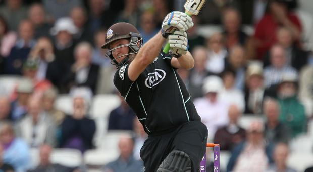 Surrey's Gary Wilson was in the runs for Ireland
