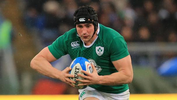 Flanker Tommy O'Donnell