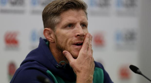 Simon Easterby, pictured, will not rise to Eddie Jones' comments about Ireland's style