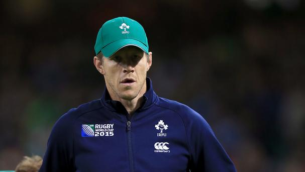 Simon Easterby, pictured, has tipped Ultane Dillane to make a big impact if he wins his first Ireland cap