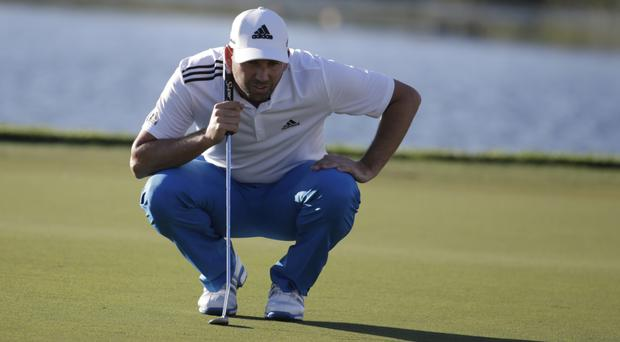 Sergio Garcia is in a share of the lead after the first round of the Honda Classic (AP)