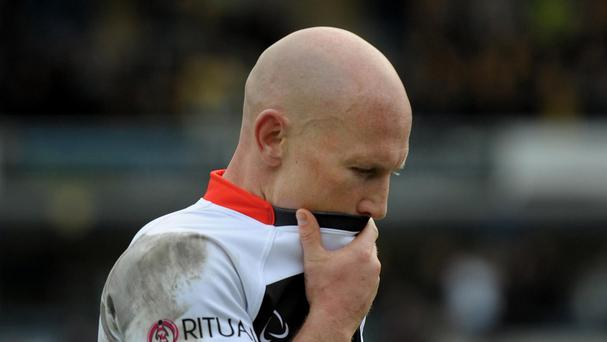 Peter Stringer is extending his stay at Sale