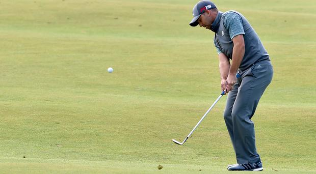 Sergio Garcia, pictured, and Adam Scott surged clear of the field at the Honda Classic