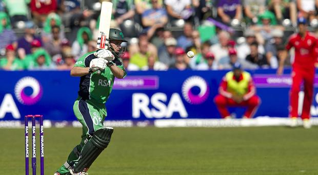 William Porterfield reached his 50 in only 26 balls