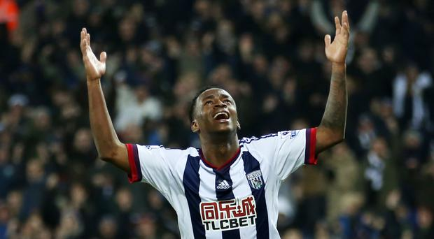Saido Berahino is only just back in West Brom's starting line-up