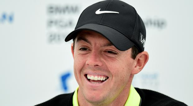 Rory McIlroy carded a second-round 65 at Doral