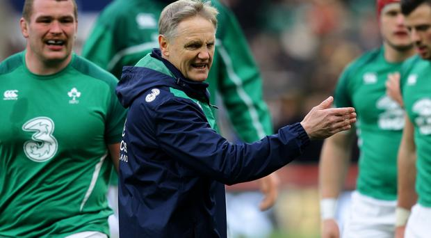 Joe Schmidt, centre, and Ireland must ignore World Cup 2019 seedings and chase victory over Scotland this weekend, according to Conor O'Shea