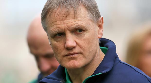 Joe Schmidt's current contract expires in the summer of 2017