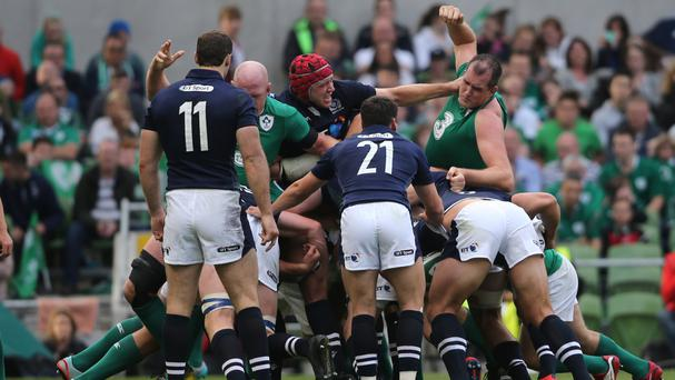 Ireland and Scotland do battle once again on Saturday