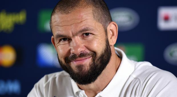 Andy Farrell, pictured, joins Joe Schmidt's coaching team next month