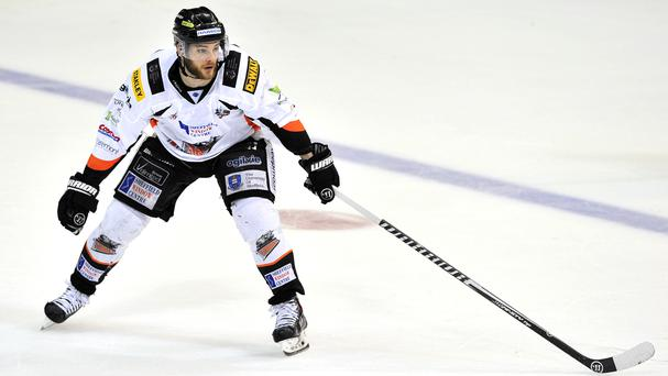 Robert Dowd scored for Sheffield Steelers in their 4-3 win over Nottingham Panthers