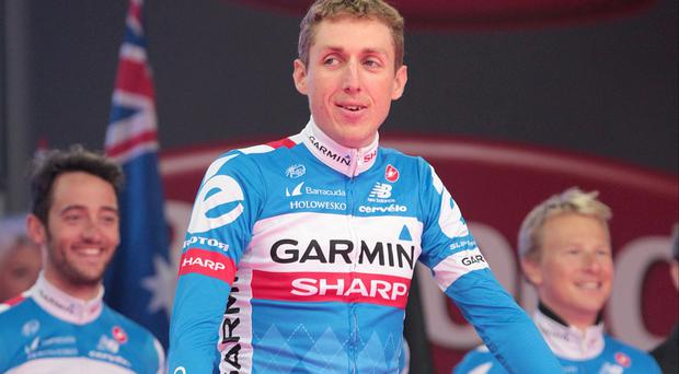 Dan Martin won stage three of Volta a Cataluyna on Wednesday