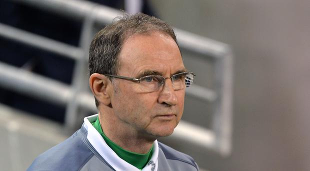 Republic of Ireland manager Martin O'Neill is challenging his team to