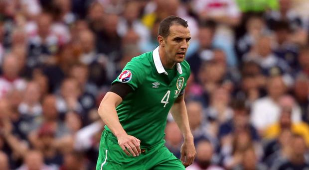 Republic of Ireland defender John O'Shea is looking to erase the disappointment of Euro 2012