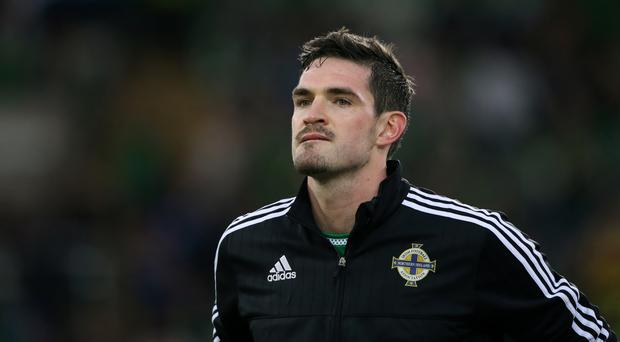 Kyle Lafferty will hope for more first-team football at Birmingham
