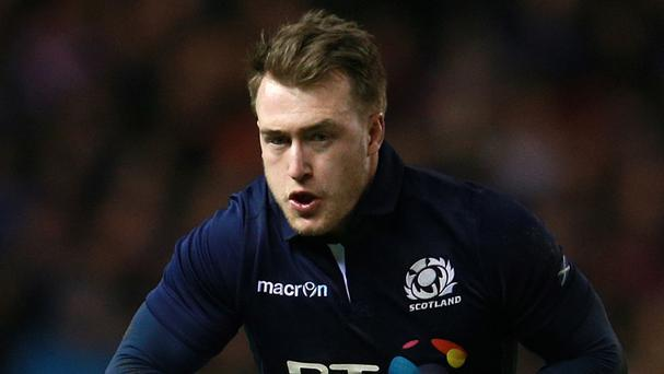 Stuart Hogg scored a try and booted a long-range penalty for Glasgow Warriors