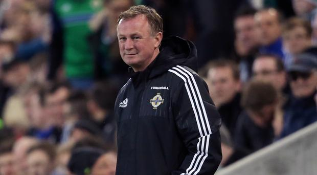 Michael O'Neill's Northern Ireland made it 10 games without defeat on Monday night