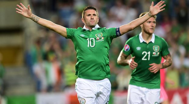 Republic of Ireland skipper Robbie Keane