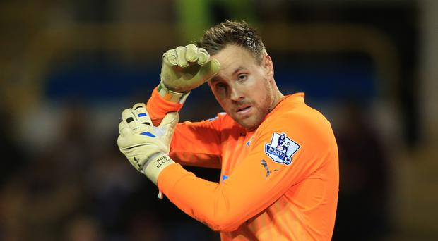 Newcastle and Republic goalkeeper Rob Elliot faces a nervy wait