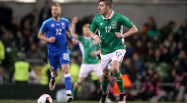 Republic of Ireland defender Stephen Ward is back in harness for both club and country