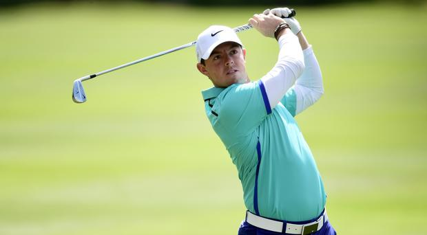 Rory McIlroy has a battle on his hands to achieve the career grand slam at Augusta