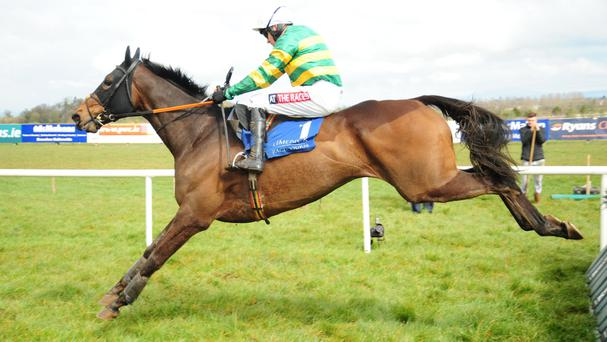 Barry Geraghty recieved a ban of 30 race days as a result of this ride on Noble Emperor