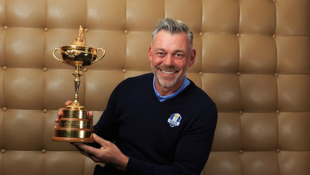 Ryder Cup captain Darren Clarke could be making his final Masters appearance this week