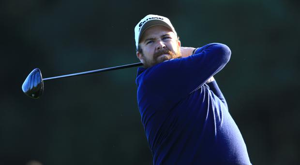 Shane Lowry carded three birdies, five bogeys and a double bogey for a halfway total of 144