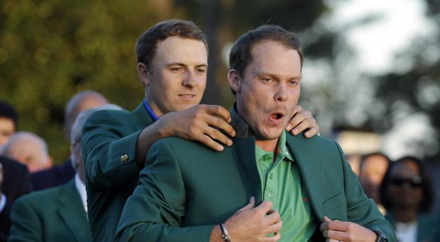 Danny Willett took advantage of Jordan Spieth's collapse to win the Masters (AP)