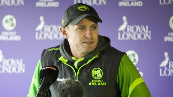 William Porterfield's Ireland will host Afghanistan