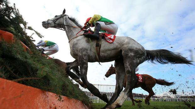Jonathan Burke sustained suspected fractured vertebrae in a gallops incident