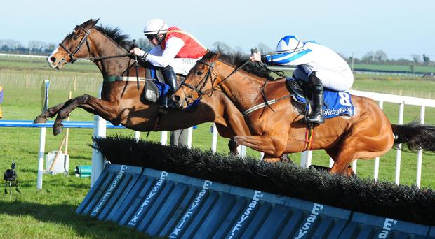 Federici has a slight lead at Fairyhouse