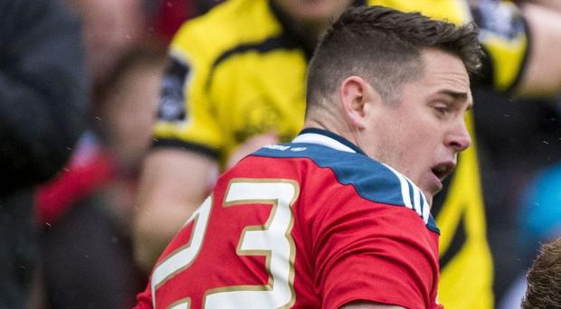 Replacement Ronan O'Mahony added his name to the try column