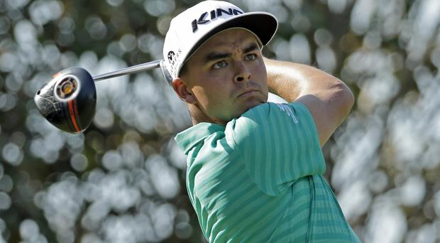 Rickie Fowler carded a third-round 68 (AP)