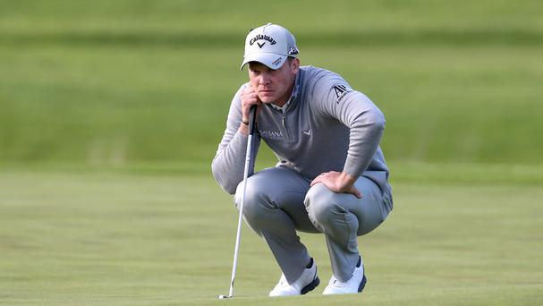 Masters champion Danny Willett claimed the first round lead in the Irish Open