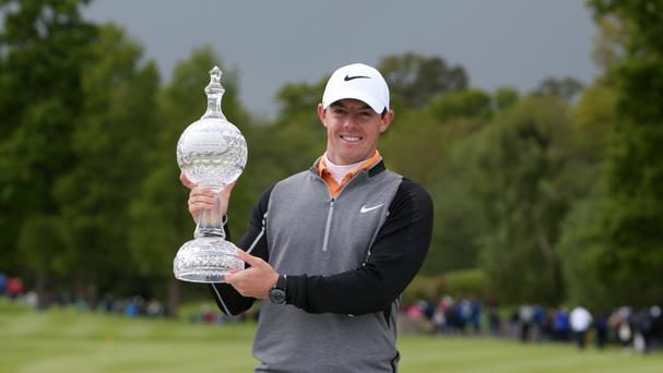 Rory McIlroy is hungry for more success after winning the Irish Open